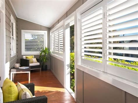 Shutters enclosed verandah if only i had a queensland house