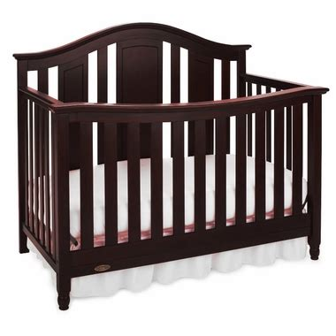graco cribs nottingham convertible crib in classic cherry