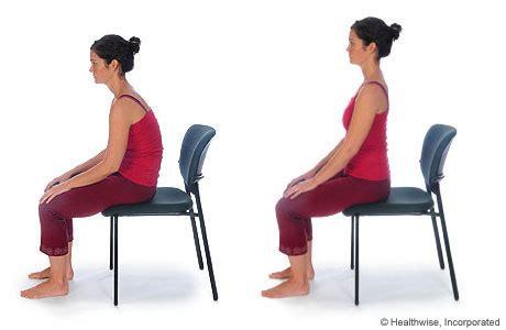 Lean Forward Chair Pelvic Rock Sitting