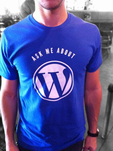 Free Giveaway Sites - our new free wordpress shirts giveaway site launches