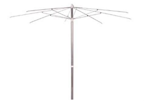 patio umbrella frame 7 5 aluminum patio umbrella with steel ribs frame only