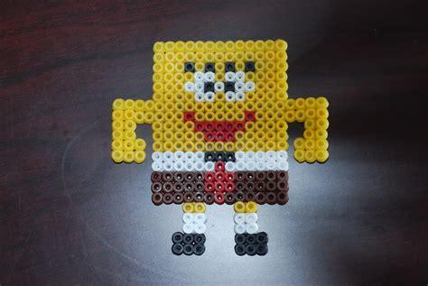 perler spongebob bead templates perler patterns melty animal friends