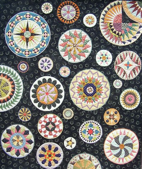 Circular Quilt Patterns by Quilt Inspiration Patchworkfun Patterns For Serious