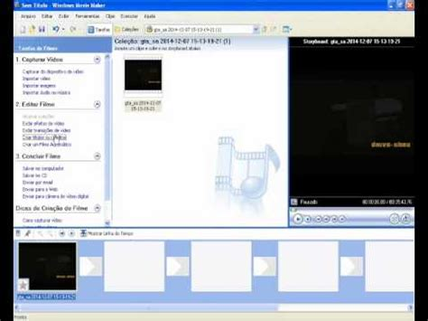 tutorial windows movie maker xp español tutorial de como editar um video pelo movie maker no