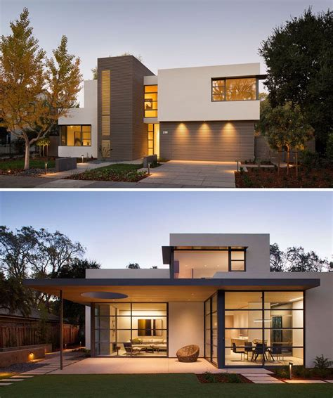house exterior design styles inspiring modern house architecture this lantern inspired house design lights up a california