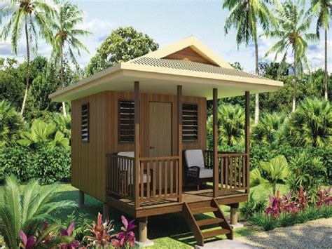 Plans For Cottages And Small Houses Bungalow Beach House Private Beach Bungalows Prefab