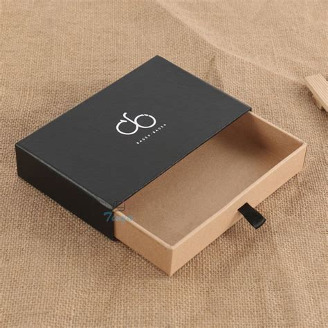 How To Make A Drawer Box Out Of Paper - paper sliding pull out cardboard drawer gift box buy