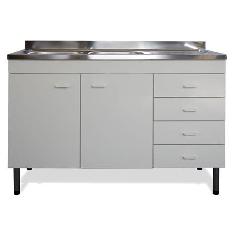 lavello cucina bianco mobile sottolavello bianco 120x50 lavello inox 2 vasca