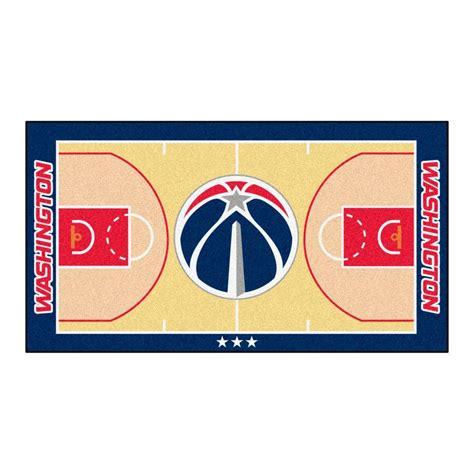 nba oklahoma city thunder rug basketball runner carpet fanmats nba washington wizards cream 2 ft 6 in x 6 ft