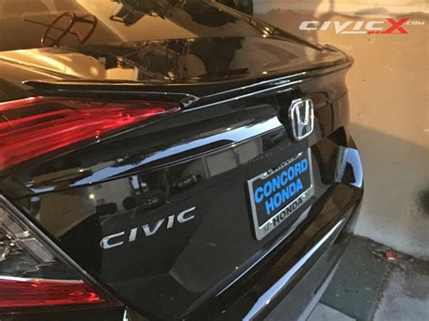 how to install a spoiler on a honda civic decklid spoiler installation for civic sedan