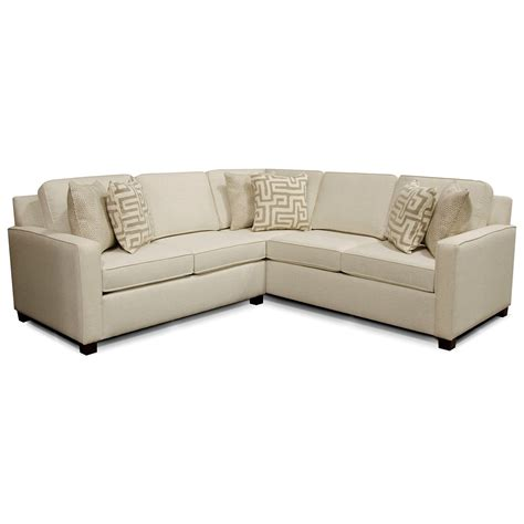 england sectional sofa england metromix river west sectional sofa with four