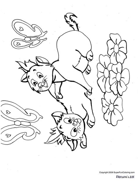 kitten and puppy coloring page az coloring pages baby puppy and kitten coloring pages az coloring pages