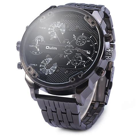 Jam Tangan Oulm Stainless Band Fashion 3221b 1 oulm jam tangan analog stainless steel 3548 black jakartanotebook