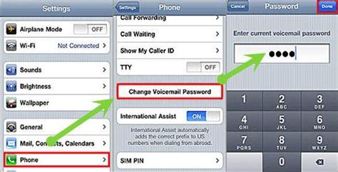 reset voicemail password gci l 246 sningar f 246 r att 229 terst 228 lla voicemail l 246 senord p 229 iphone