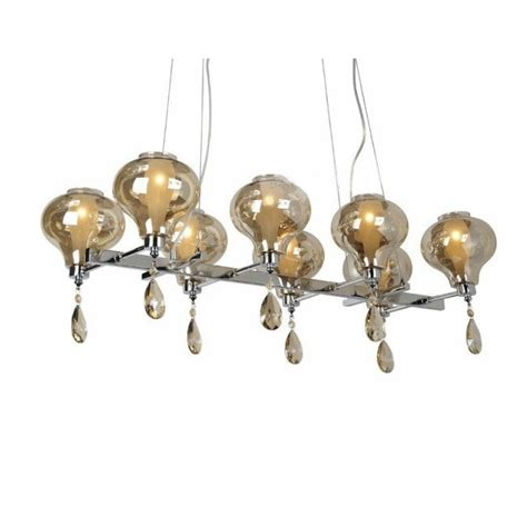 chandelier shapes blown glass 2 layers shapes chandeliers in chrome finish