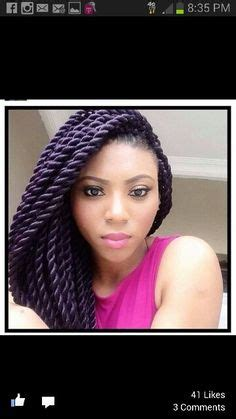 stephanie coker s large senegalese twists looked this natural hair on pinterest havana twists bantu knot out