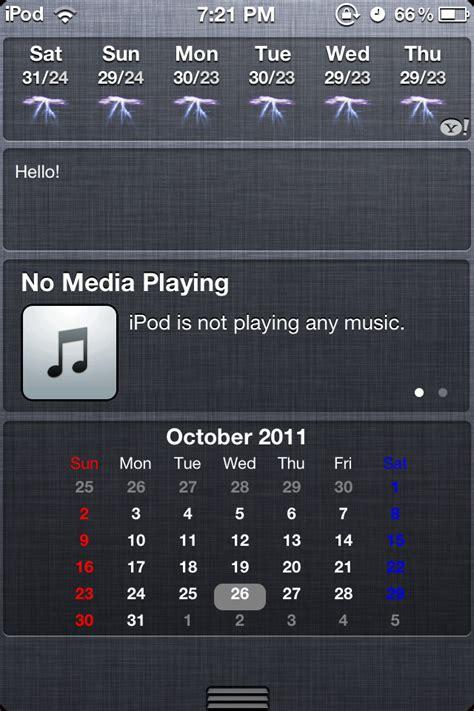 Calendar Widget Iphone How To Get Calendar Widget For Your Notification Center
