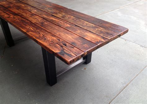 How To Stain Wood Table by 34 Incredbile Reclaimed Wood Dining Tables