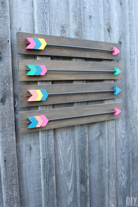 diy wood decor arrow wall decor diy wood arrows wall