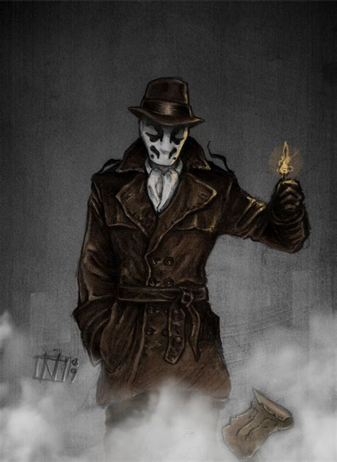 watchmen art of the rorschach by night wind on