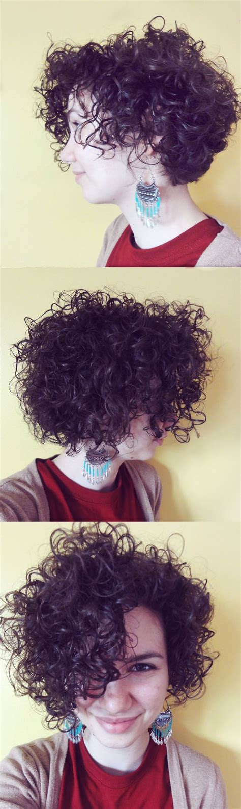 adding curl to an angle bob 200 best images about short curly hair on pinterest