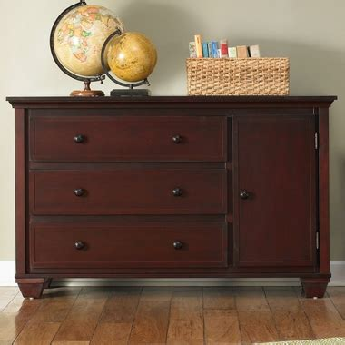 Graco Portland Dresser by Graco Portland 3 Drawer Combo Dresser Changer In Cherry Free Shipping