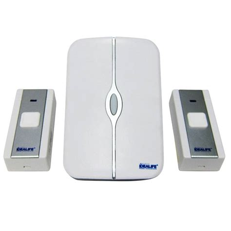 Bell Rumah Wireless Bell Rumah Bel Pintu Wireless Idealife Il 292 Ac Plugin 2 Remot