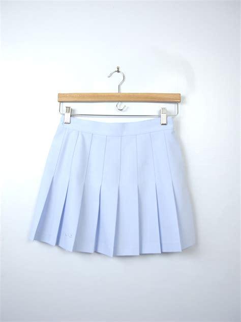 skirt tennis skirt blue skirt blue light blue pastel