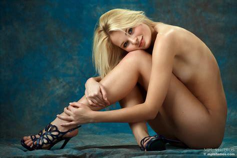The High Heels Make Her Long Naked Legs Look So Freaking