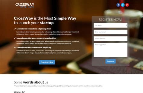 free html templates for landing pages 27 best html landing page templates free premium