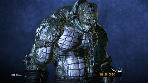 batman killer croc batman arkham asylum trailer germia gaming world