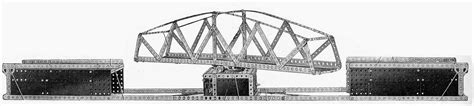 swing bridge model analysis of meccano manuals manual model search
