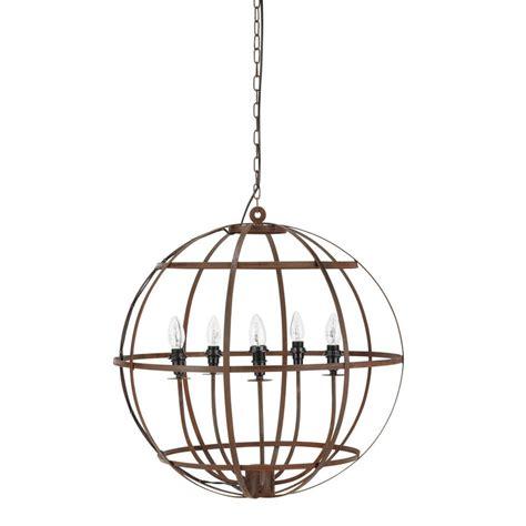chandelier metal gavres metal chandelier maisons du monde