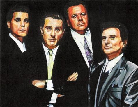 robert de niro ray liotta portrait of ray liotta robert de niro paul sorvino joe