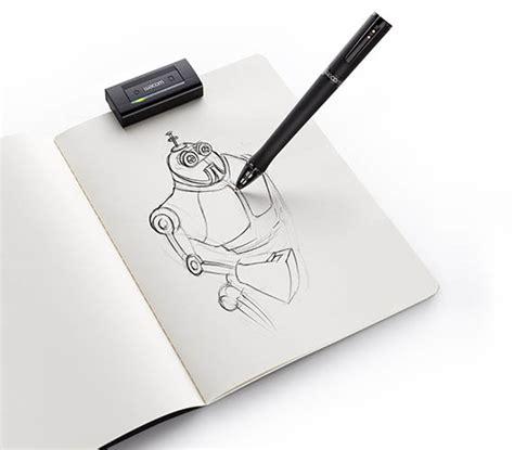 wacom inkling digital drawing pen cool material