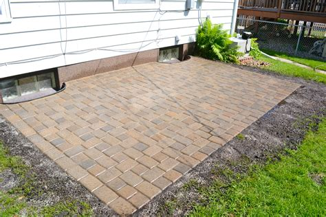 paver patio done markson