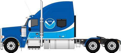 semi trailer truck fmc 850c fictional noaa semi trailer truck by dharjinni on