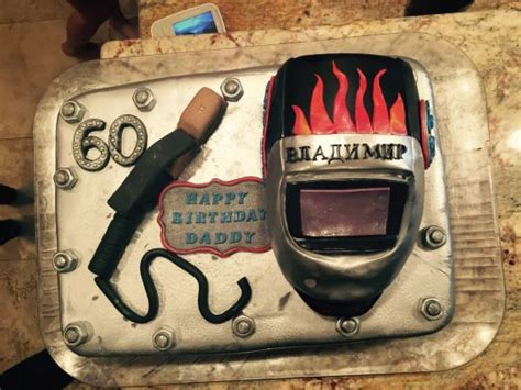 Welding Cake by Dads Birthday Welder Cake Cake By Lea S Cooking Cakesdecor