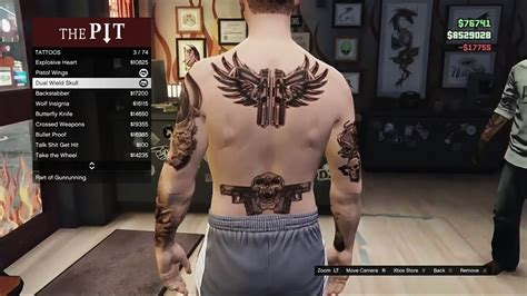 tattoo gta v online gta 5 gunrunning dlc all tattoos items showcase gta 5