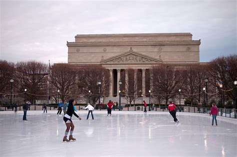 national gallery of sculpture garden rink skating rinks in dc including indoor and outdoor rinks