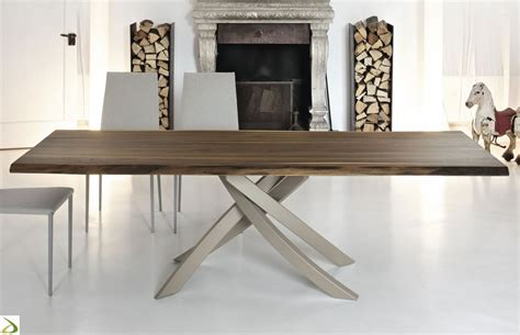 tavoli per soggiorni moderni tavolo design artistico di bontempi arredo design