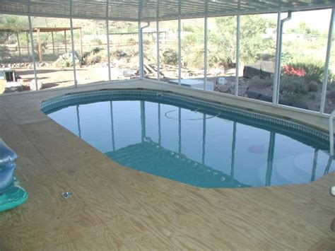Swimming Pool Awnings by Pool Shade