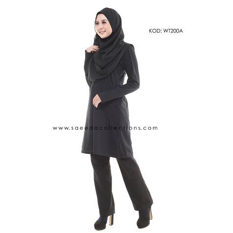 Exclusive Smart Gantungan Baju Termurah blouse cotton muslimah plain smart casual blouse