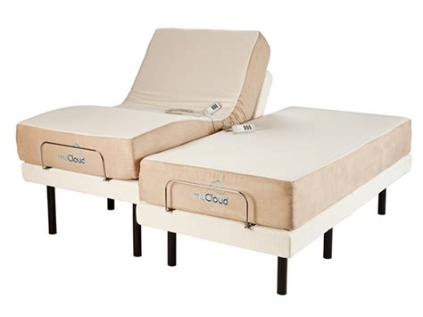 split king adjustable beds adjustable bed with 10 quot split king mattress home woot
