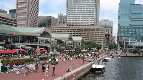inner harbour baltimore in which josh shows you his adopted american hometown of