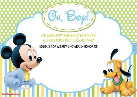 mickey mouse 1st birthday invitation template free alanarasbach com