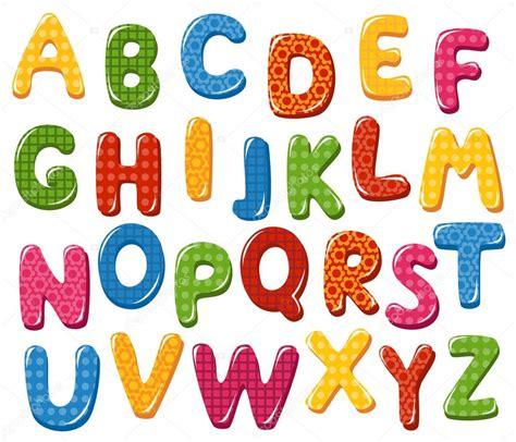 lettere carine lettere dell alfabeto colorato vettoriali stock 169 tatus