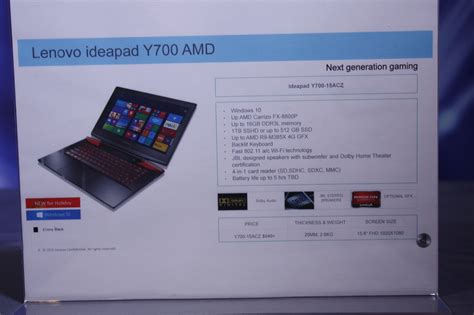 lenovo has a high end amd gaming laptop in the works nag