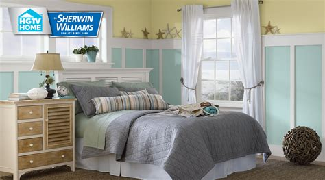 coastal cool color palette hgtv home  sherwin williams