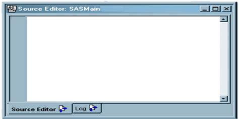 Sas Etl by Sas Etl Studio Source Editor Window